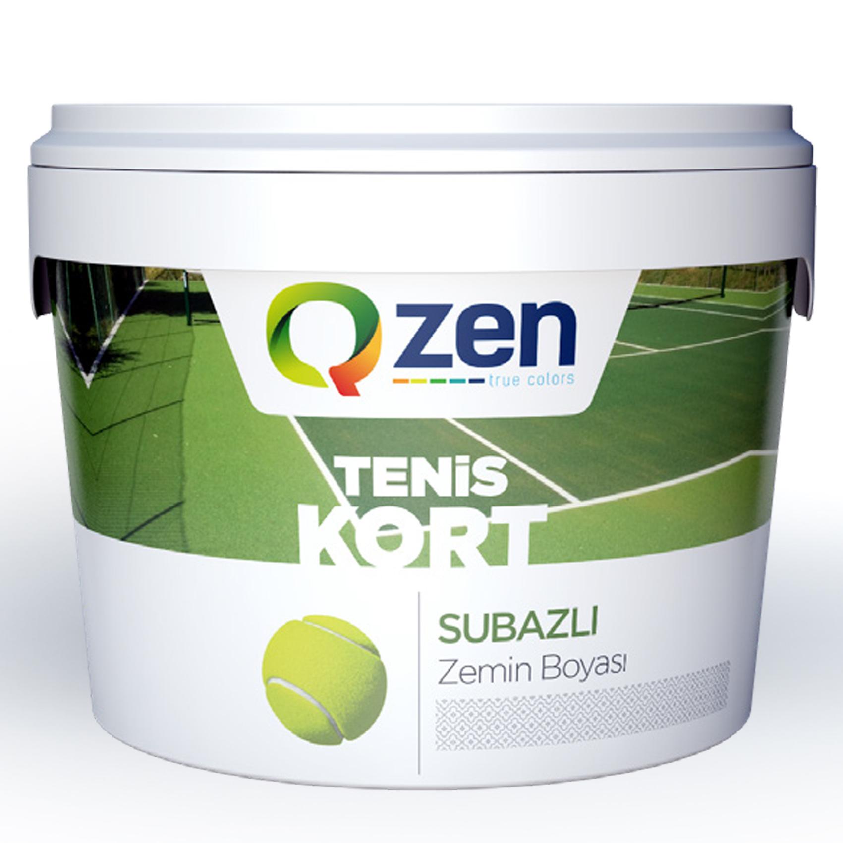 Tenis Kort Boyasi Qzen Boya